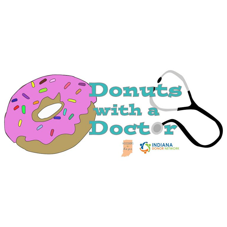Donut logo, Donuts with a Doctor